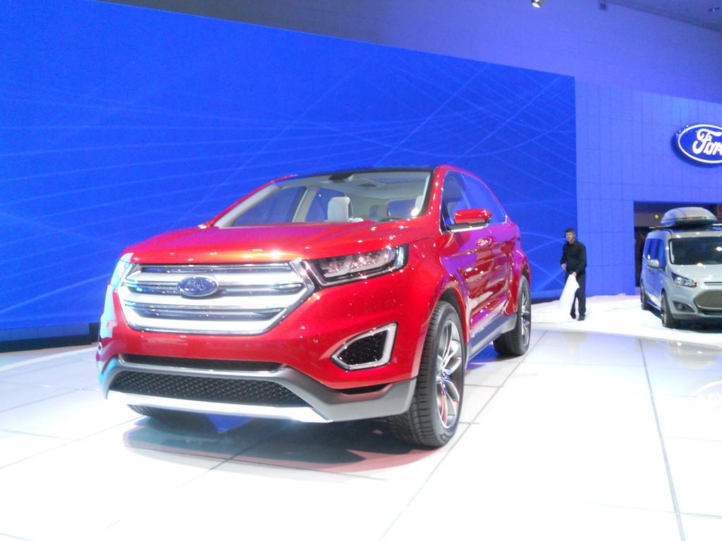 Ford Edge Concept auf der LA Automesse 2013