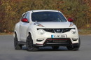 Die Frontpartie des Nissan Juke Nismo (Weiß)