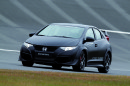 Die Frontpartie des Honda Civic Type R