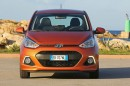 2013 er Hyundai i10 Intro Edition in orange
