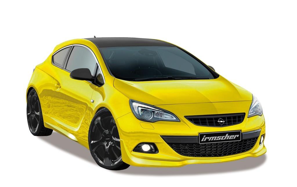 Tuning fürs Coupe: Der Irmscher Opel Astra GTC Sport 45