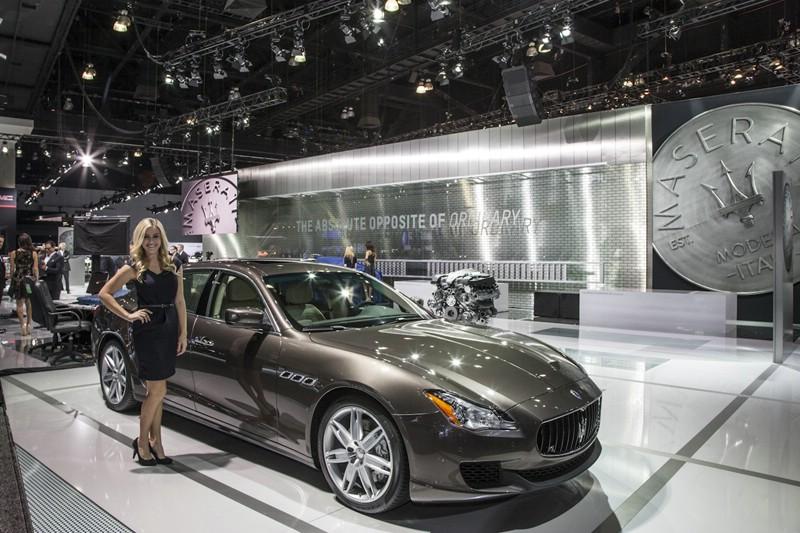 Premiere in den USA: Das Oberklassefahrzeug Maserati Ghibli