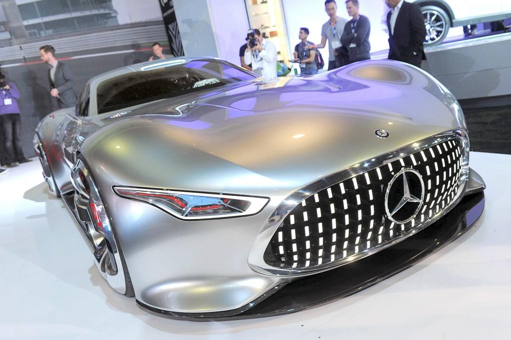 Der Kühlergrill des Mercedes AMG Vision Gran Turismo