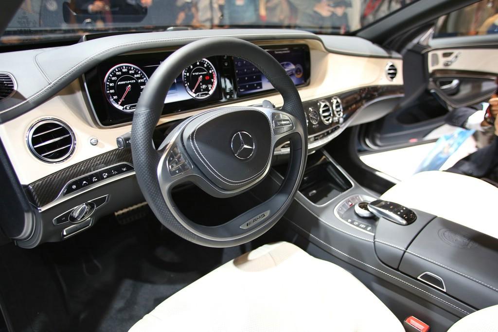 Mercedes Benz S Klasse Innen