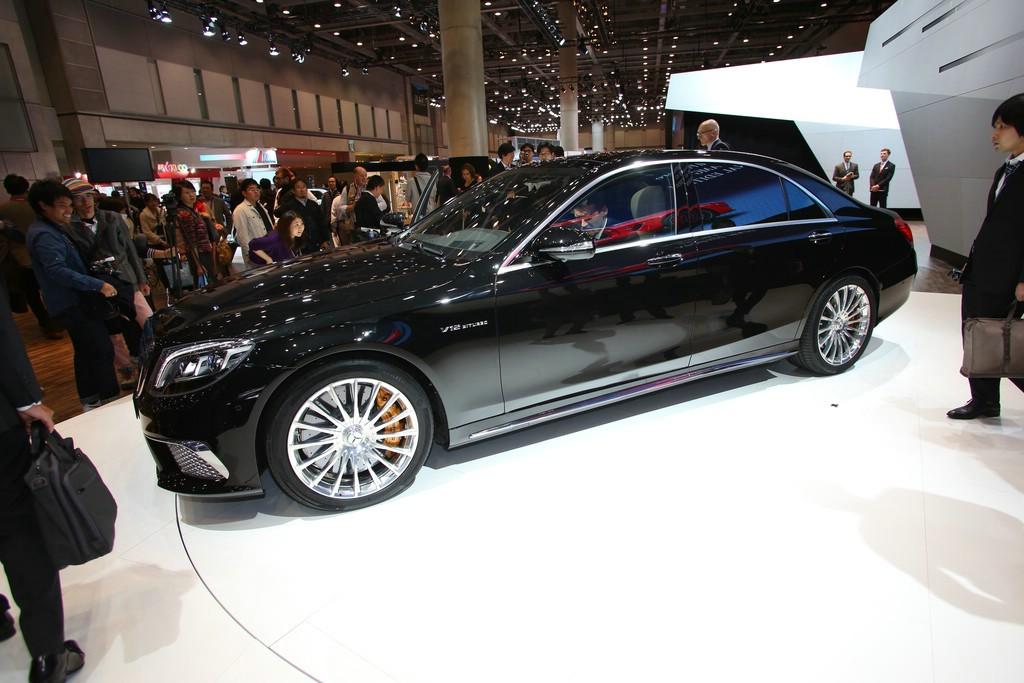 AMG präsentiert den S 65 AMG auf der Tokio Motor Show 2013