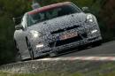 Der Supersportler Nissan GT-R Nismo auf der Nürburgring-Nordschleife
