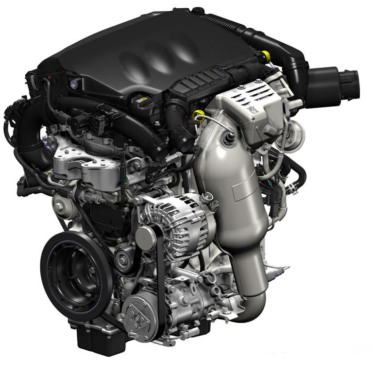 Der leichte 1.2-Liter e-THP Benzinmotor von Peugeot