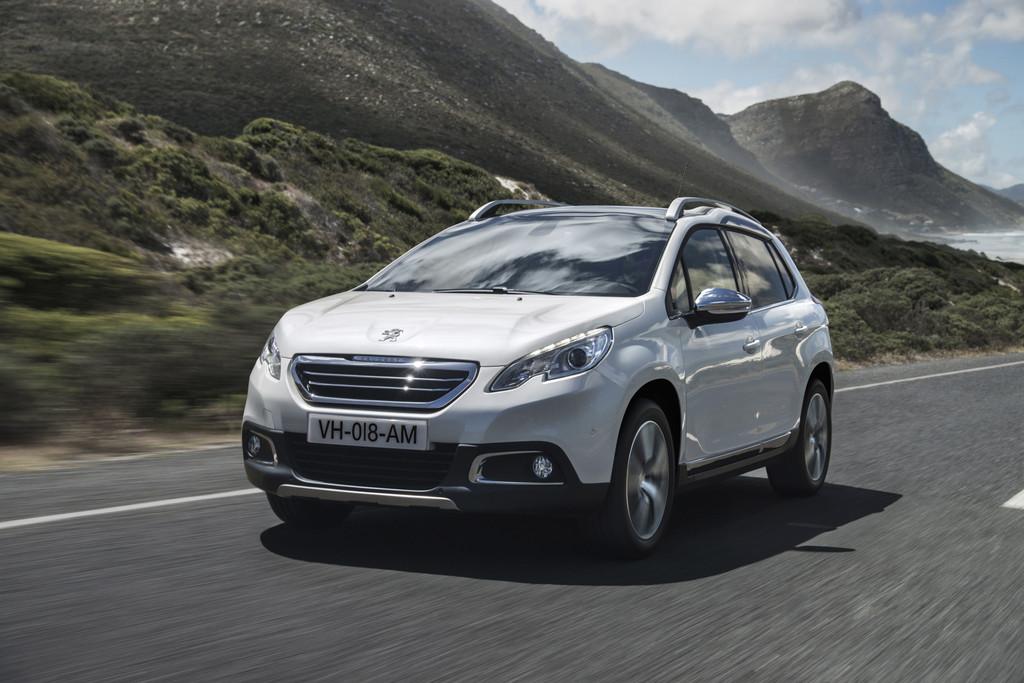 Exterieur Aufnahme vom Peugeot 2008