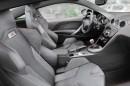 Die Sitze des Sportcoupes Peugeot RCZ R