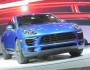 Das Kompakt-SUV Porsche Macan auf der Messe Los Angeles