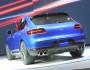 Die Heckansicht des Porsche Macan