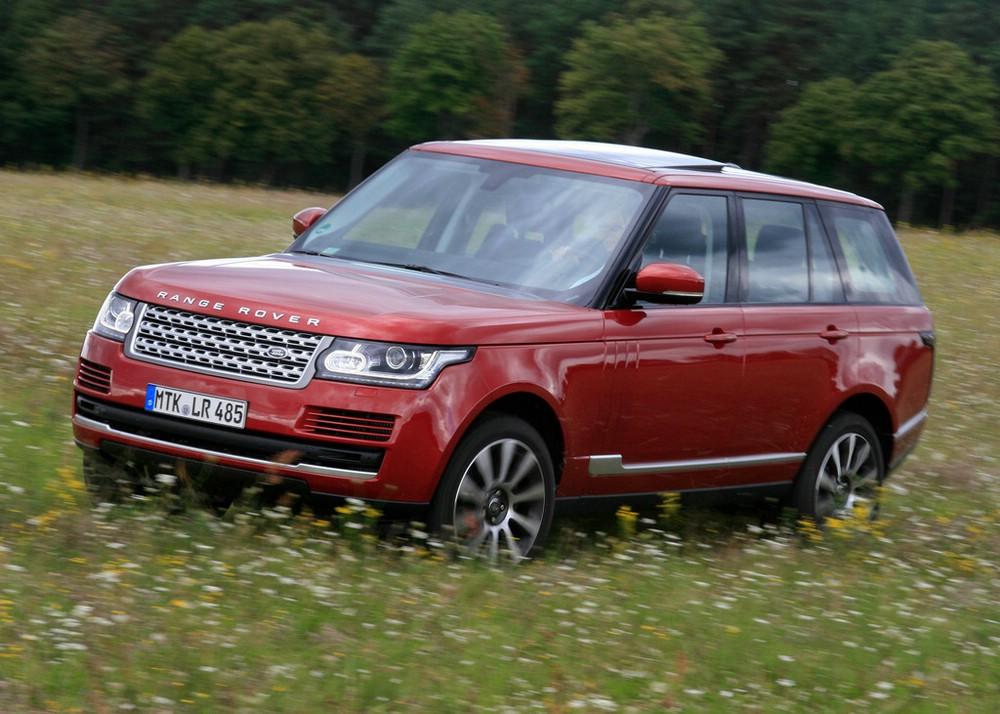 Range Rover SDV8 auf 21 Zoll Felgen