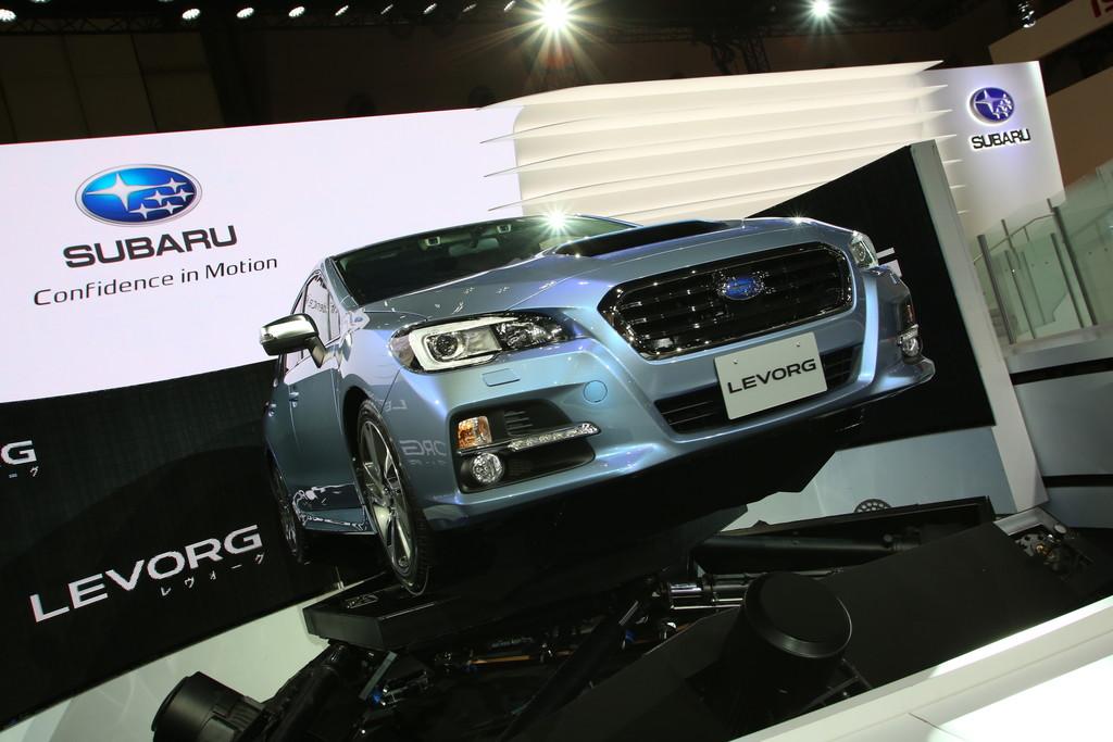 Vorstellung des Subaru Levorg auf der Tokyo Motorshow 2013
