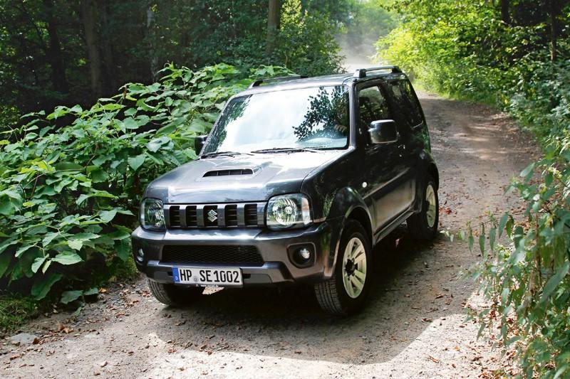 Die Frontpartie des Suzuki Jimny
