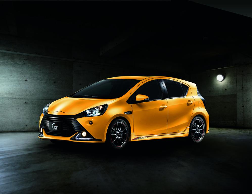 Von der Motorsportabteilung veredelt: Toyota Aqua G Sports