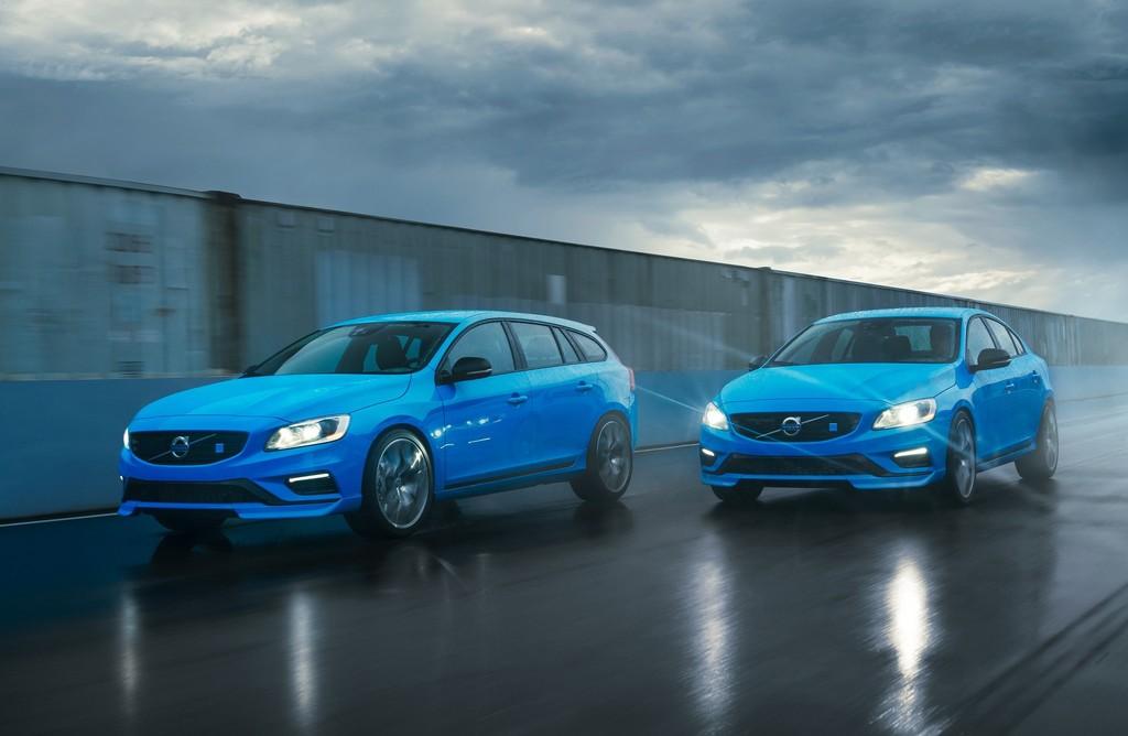 Die Frontpartie der Volvo Polestar Modelle S60 und V60