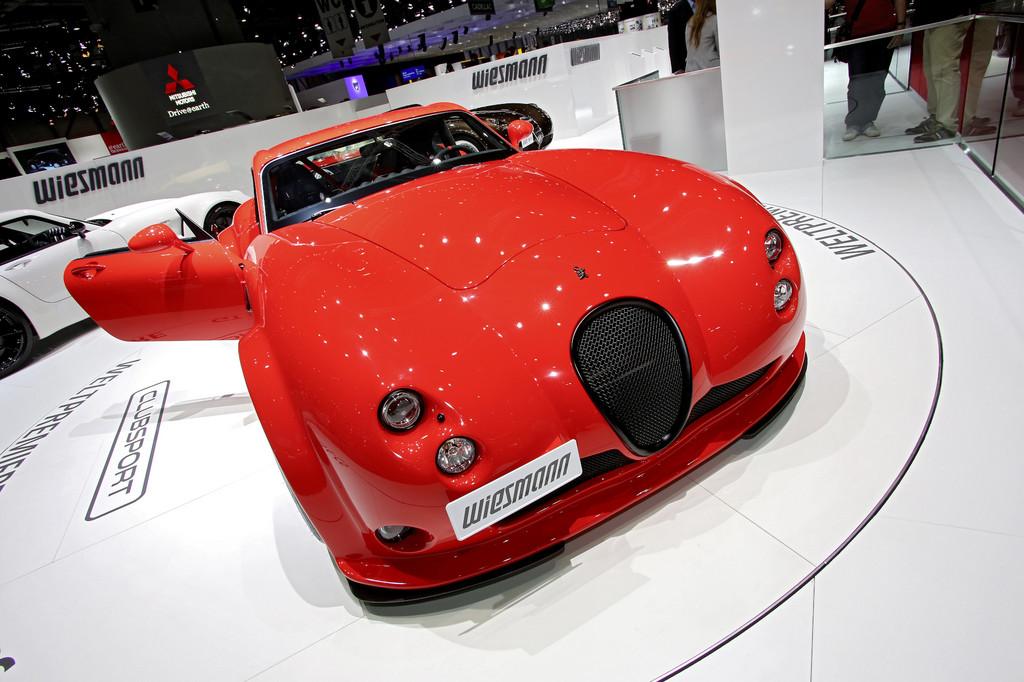 Der Wiesmann GT MF4-CS war auf dem Genfer Autosalon zu sehen
