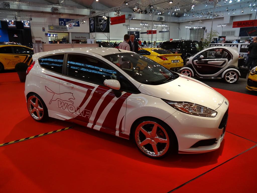 Wolf Ford Fiesta ST 360 auf der Essen Motorshow 2013