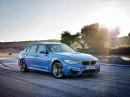 2014 BMW M3 als viertürige Limousine
