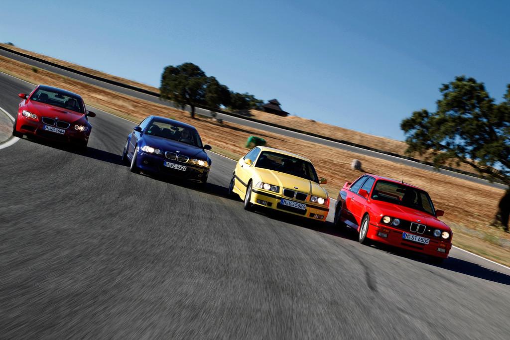 BMW M3 Baureihen