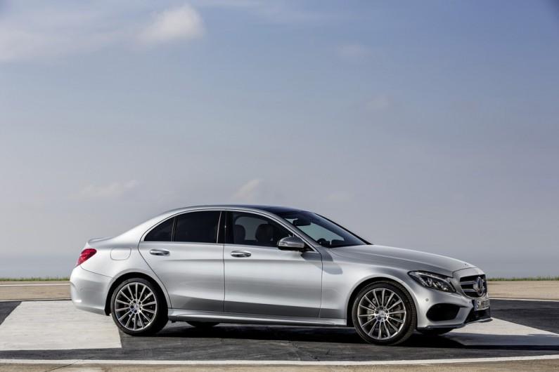 Die neue C-Klasse 2014 von Mercedes-Benz in Silber