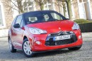 Citroen DS3 Pure Tech VTi 82 in rot in der Frontansicht
