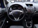 Lenkrad und Mittelkonsole des Ford Ecosport