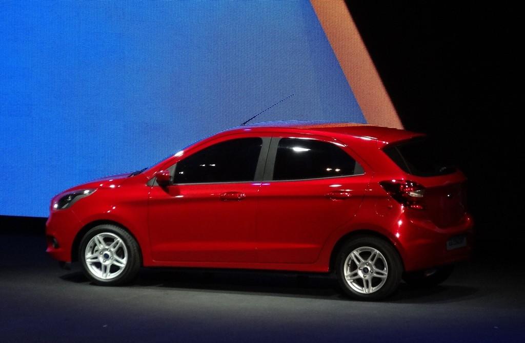 Ford Ka Concept als Fünftürer bei der Vorstellung