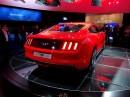Das neue Ford Mustang Coupé von hinten