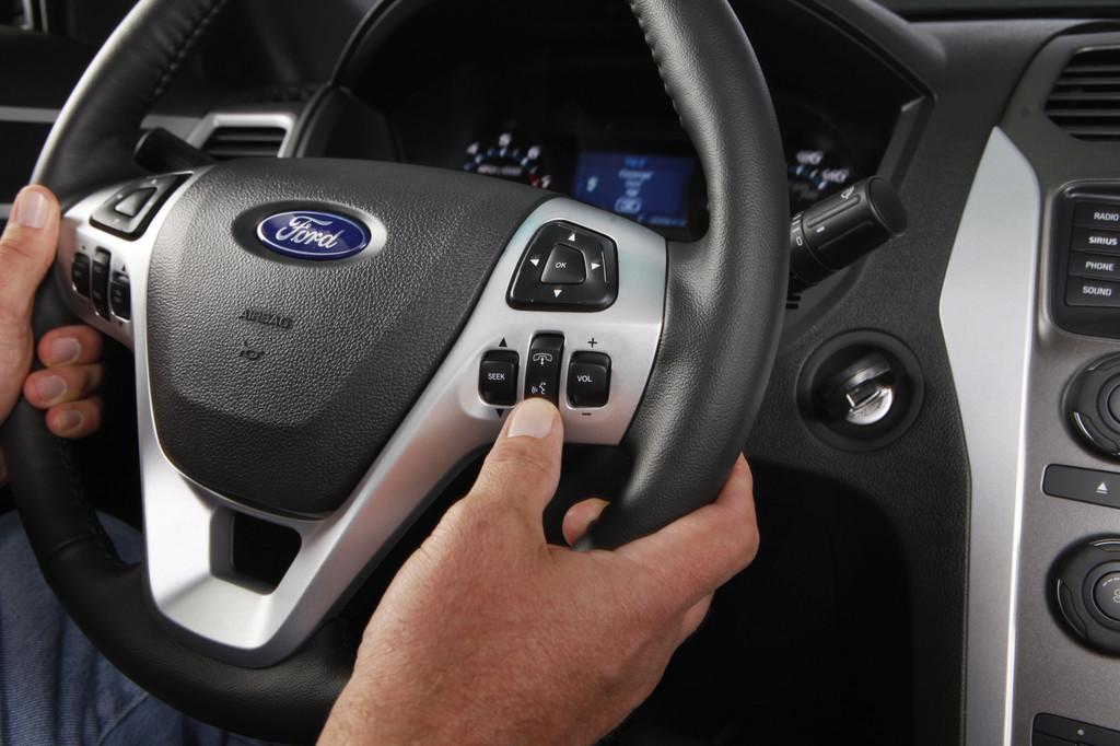 Konnektivitätssystem Ford Sync in einem Fahrzeug von Ford