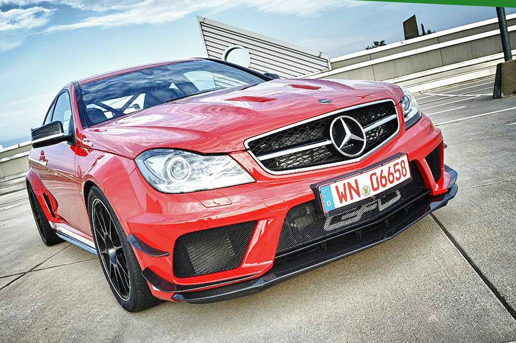 Der 850 PS starke Mercedes C63 AMG Black Series von GAD Motors