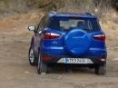 Die Heckansicht des 2014er Ford Ecosport