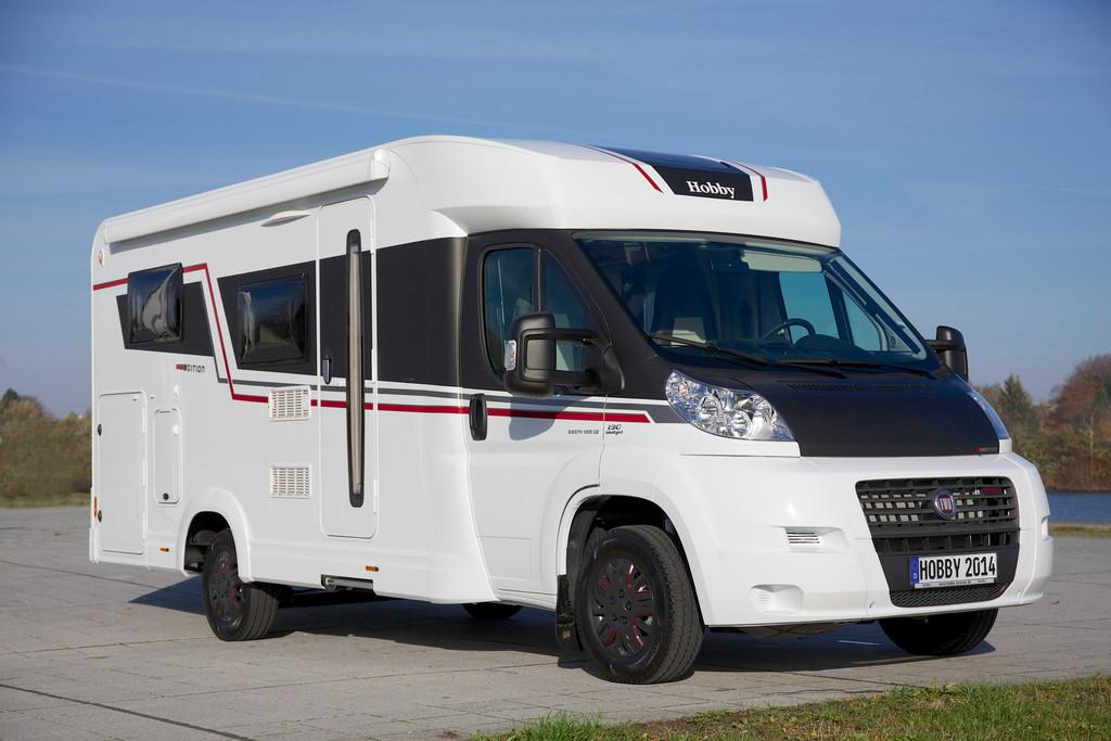 Reisemobil Hobby Siesta V-Editon Modell 2014