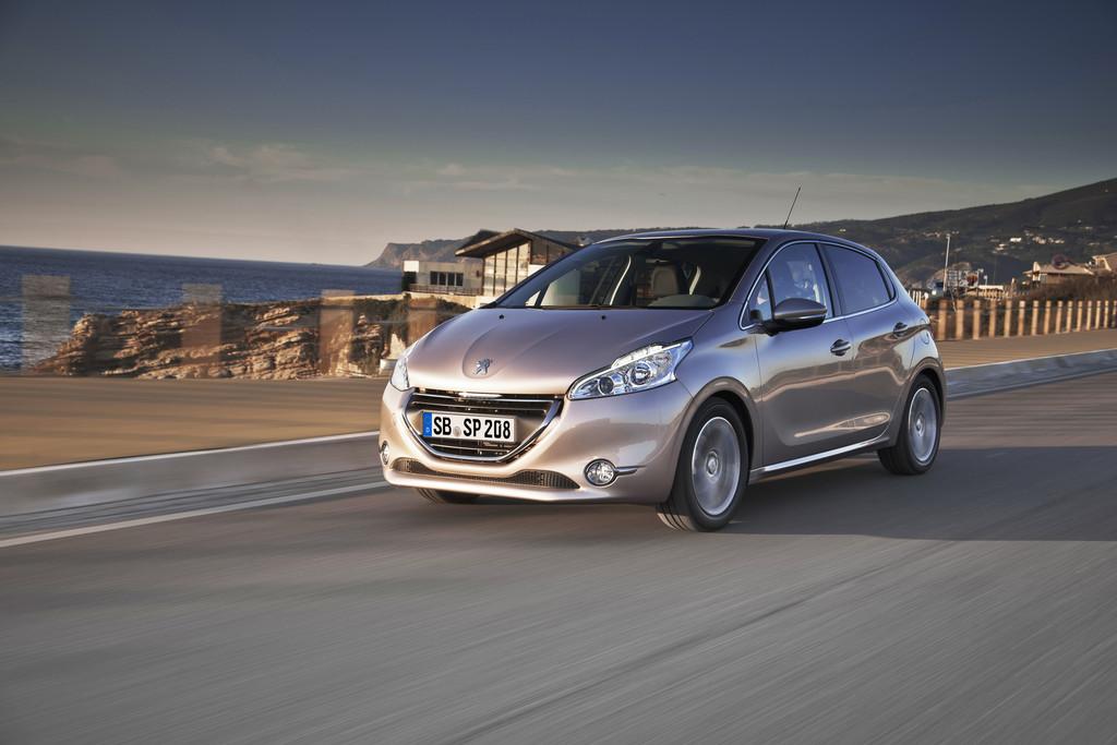Der Peugeot Kleinwagen 208 in Deutschland weiterhin sehr beliebt