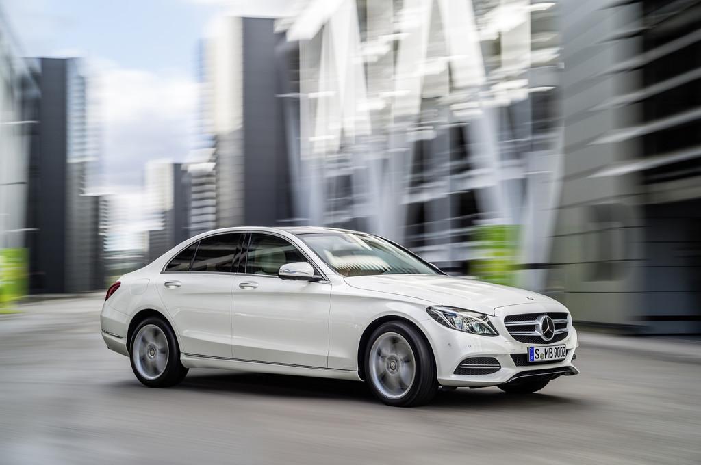 Die neue Mercedes-Benz C-Klasse W 205 von 2014
