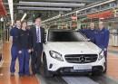 Kompakt-SUV Mercedes-Benz GLA im Mercedes-Benz-Werk Rastatt
