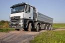 fünf Achsen für Mercedes-Benz Baureihe Arocs