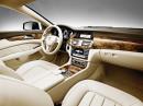 Der Innenraum des CLS (C218) 2010er Mercedes CLS 250 CDI