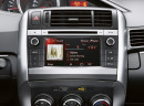 Das Multimediasystem Toyota-Touch im 2014er Toyota Verso