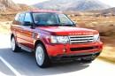 Fahraufnahme vom 2013er Range Rover Sport
