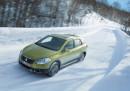 Der Crossover Suzuki SX4 S Cross im Winter auf Schnee