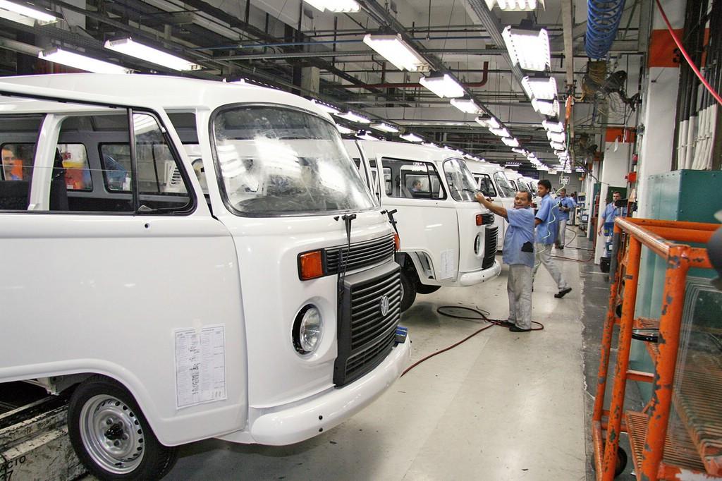 Die T2 Produktion in Brasilien im VW Werk