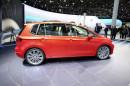 Messeauftritt für den VW Golf Sportsvan im Jahr 2013