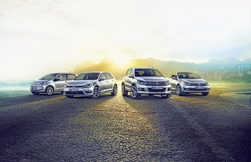 VW Modelle 2013 als Sondermodell Cup