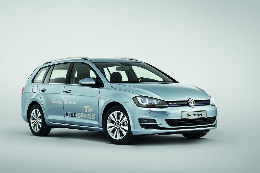 2014er VW Golf Variant TDI Blue Motion