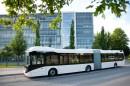 Der Volvo 7900 LAH ist ein Bus mit Hybridantrieb