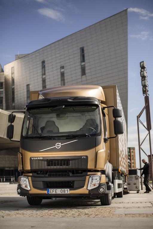 2013er Volvo FL in der Frontansicht