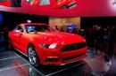 Die Vorstellung des neuen Ford Mustang Coupé