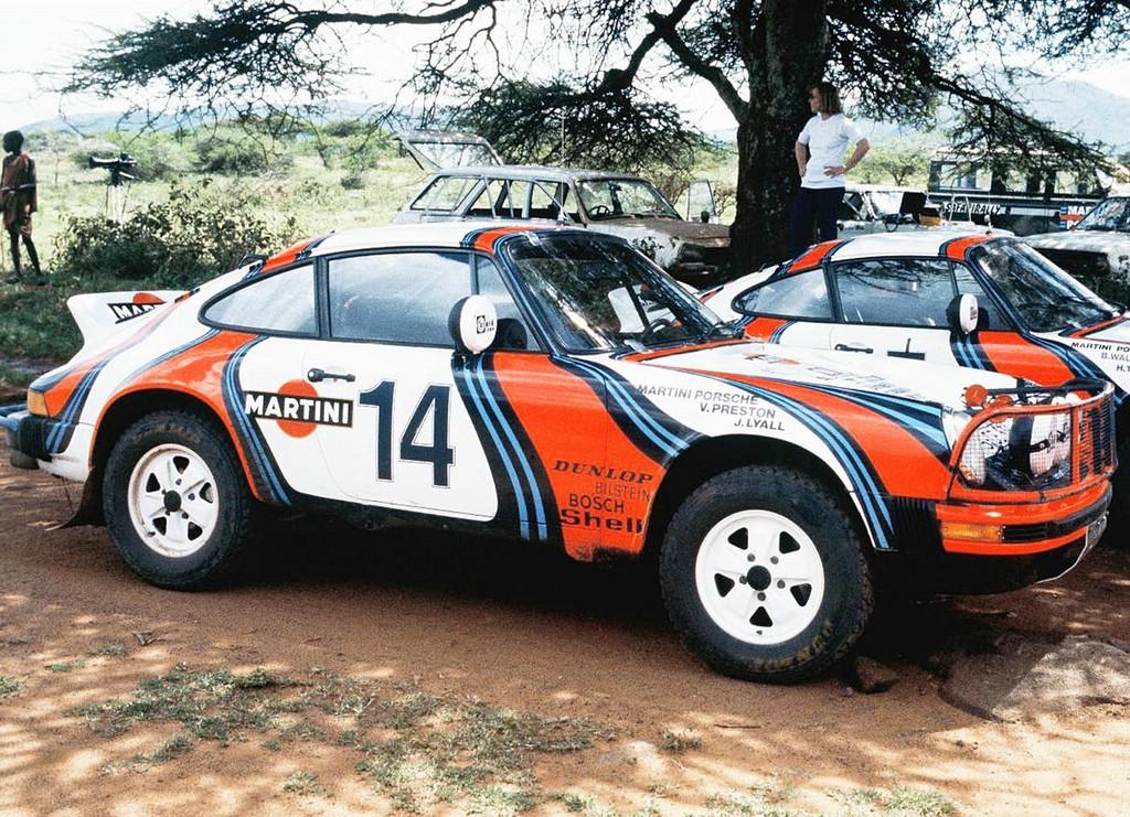 Der Porsche 911 Safari-Rallye Baujahr 1974