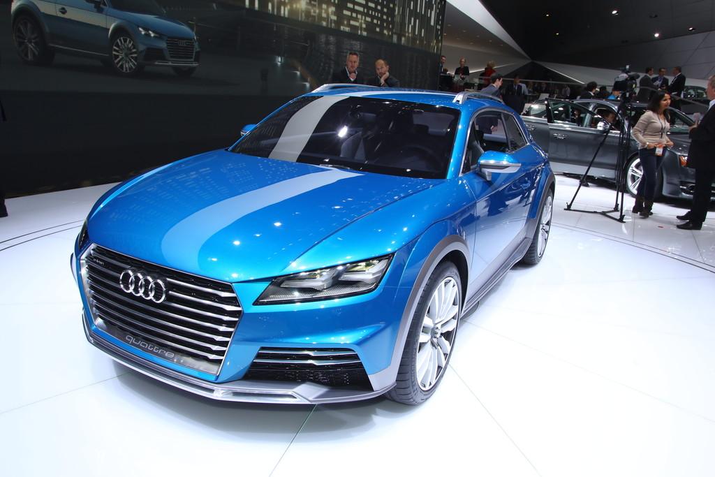 Vorstellung des Audi Allroad Shooting Brake auf der Detroit Motorshow 2014